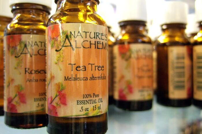 tea tree oil has soothing effects