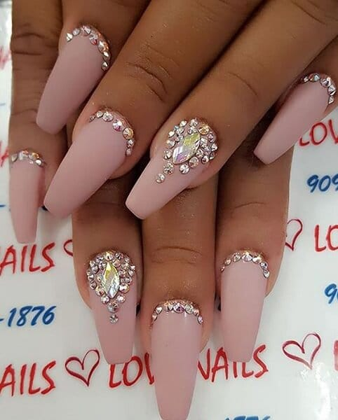Top 5 Nail Designs with Diamonds You Must Try