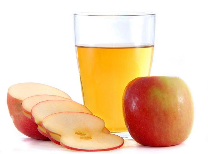 apple cider vinegar against itching
