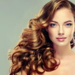 beautiful healthy hair after oil treatments