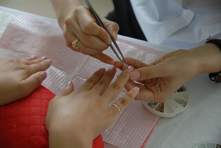 beautiful nails and manicure