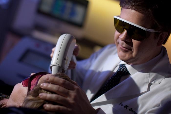 laser skin resurfacing procedure