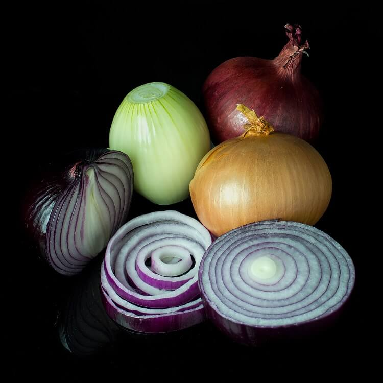 onion as a gray hair remedy