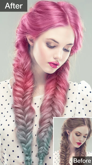 Top Hair Color Changer Apps To Play With - Hairstyle colour app