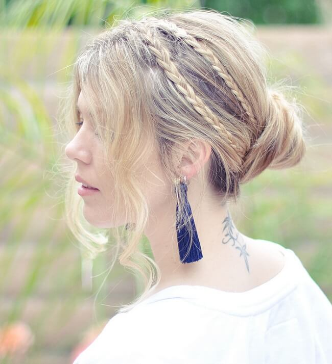 out of the ordinary statement hairstyles