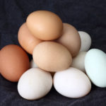 a pile of eggs