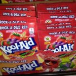packages of kool aid fruity drink