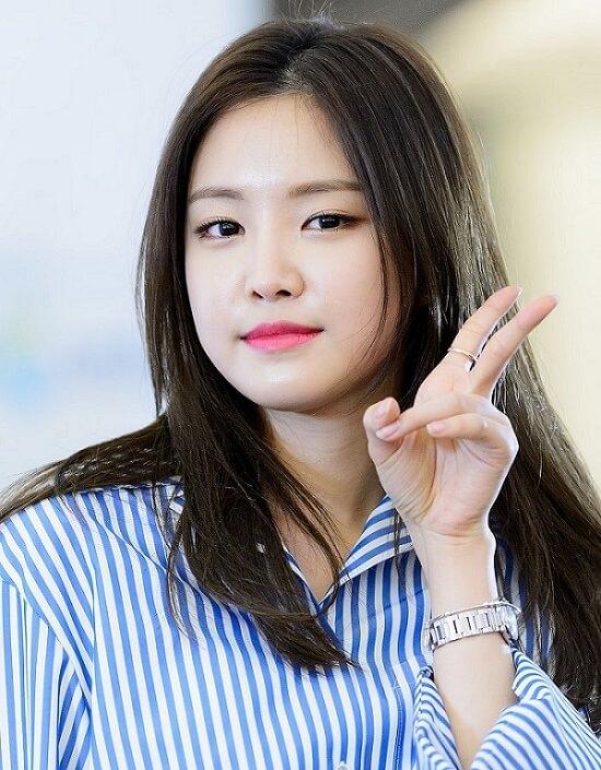 korean girl with beautiful skin