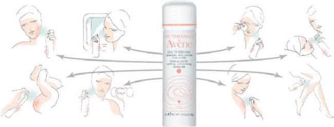 ways in which you can use avene thermal spring water