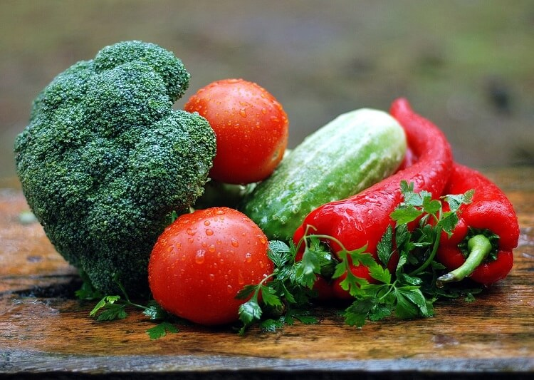 plenty of vegetables on a table