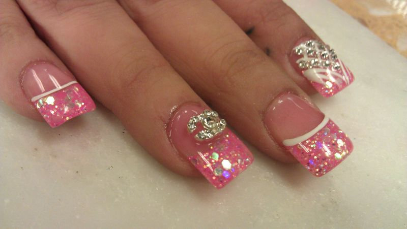 Short Acrylic Nails Design