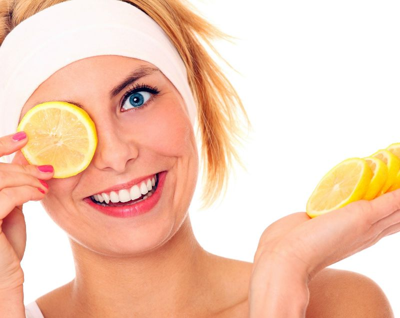 Lemon Treatment for Brown Spots on Face