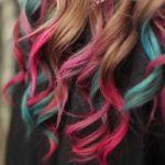 Hair Chalk Dark Hair