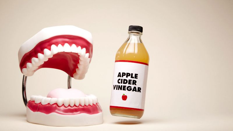 Apple Cider Vinegar to Whiten Teeth