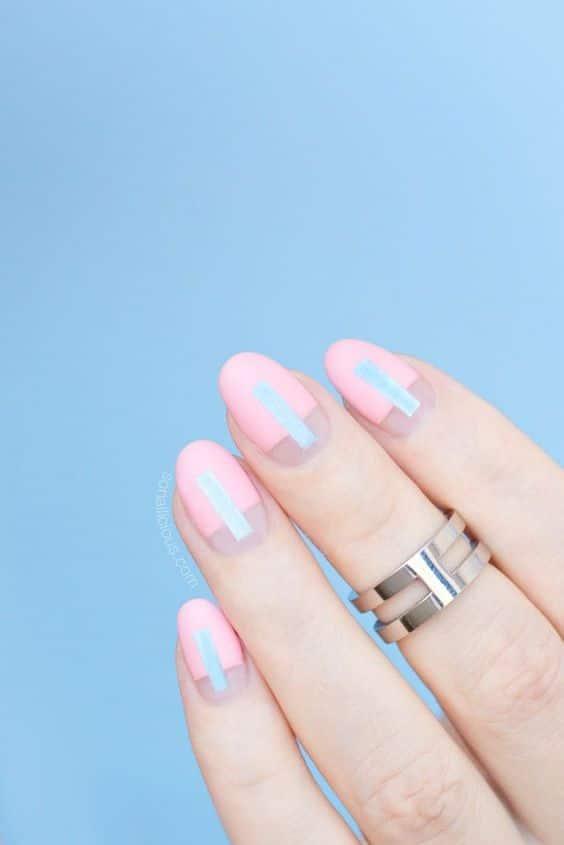 futuristic rose quartz