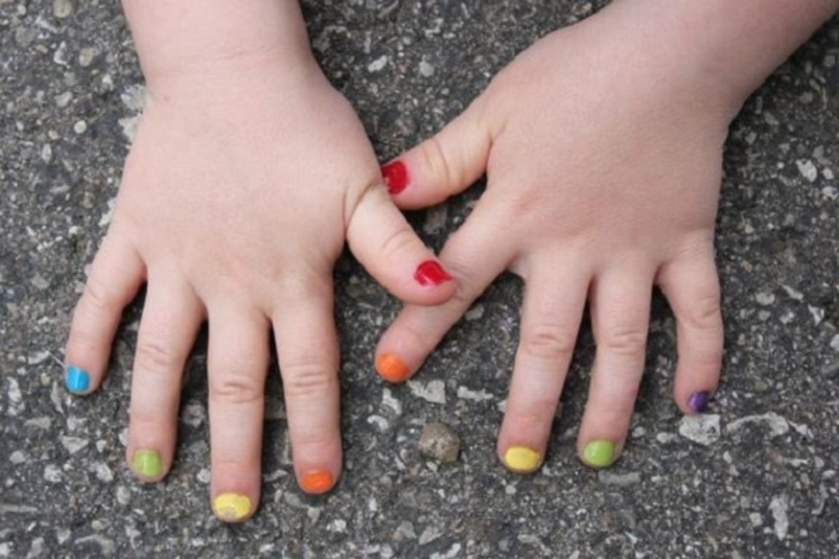 10 little girl nail designs to enchant anyone top 10 little girl nail designs to enchant anyone prinsesfo Image collections