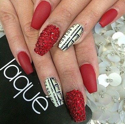 Top 10 Red And Black Nail Designs To Experiment With