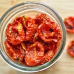 jar of sun dried tomates