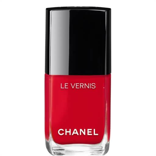 chanel nail polish shade rouge red