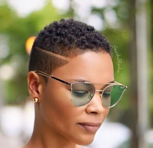 shaved natural cute hairstyles