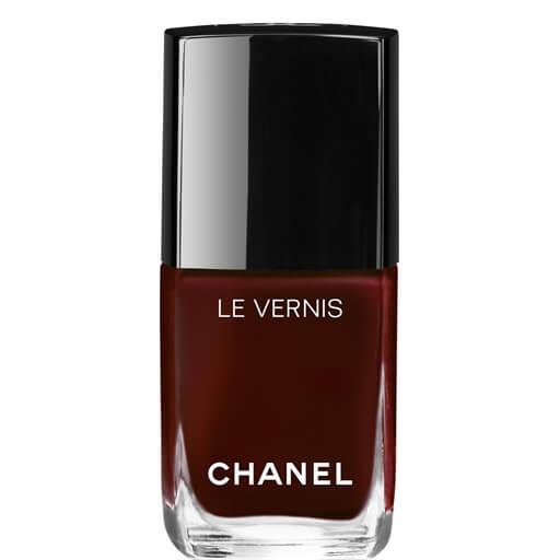 chanel nail polish shade rouge noir