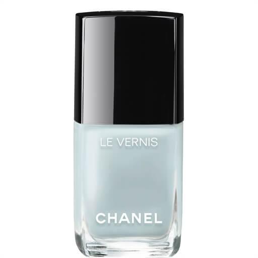 chanel nail polish shade bleu pastel