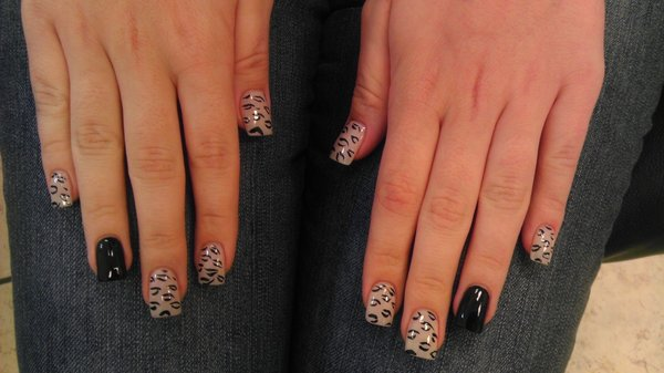 Top 10 nail designs for every season nails with leopard print prinsesfo Gallery