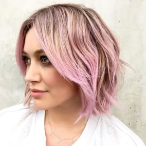ombre short hairstyle