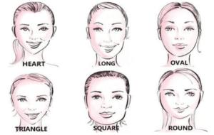 face shape cute hairstyles