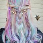 Colorful hair locks