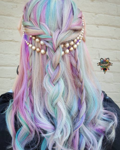 7 Gorgeous Pastel Hair Ideas In 2017