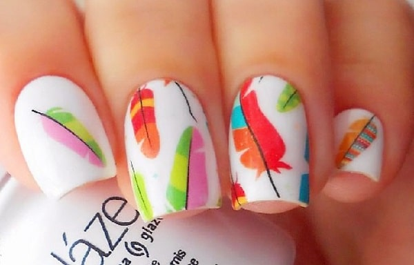 5 Feather Nail Designs You Have To Try