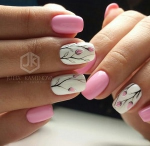 Flower Nail Designs | 6 Flower Nail Designs To Wear In 2017