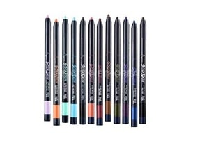 best smudge proof eyeliners Touch In Sol Style Neon Super Proof Gel Liner