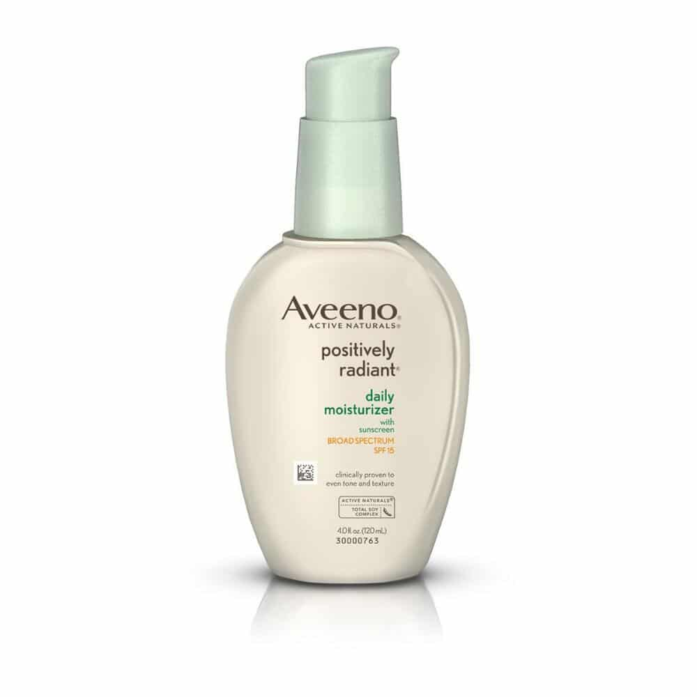 best moisturizer for combination skin aveeno positively radiant