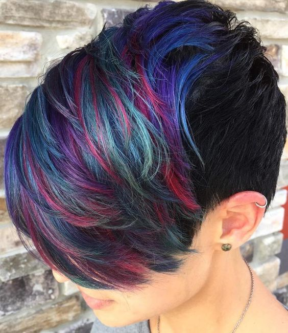 Black Ice Hair Spray >> The Best Hair Color Ideas for Short Hair in 2017