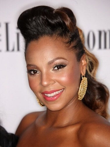 ashanti best hairstyles for heart shaped faces