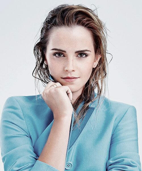best eyebrow shape emma watson