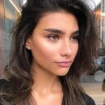best eyebrow shape for heart face straight eyebrows