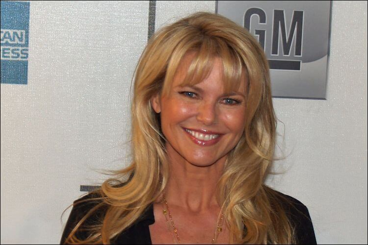 Portrait of Christie Brinkley smiling