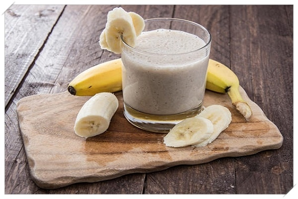 healthy weight loss recipes beanut butter and banana smoothie