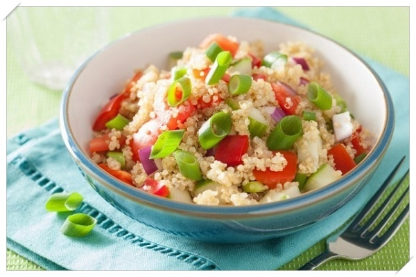 healthy weight loss recipes chicpeas and couscous salad