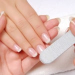 how to trim nails