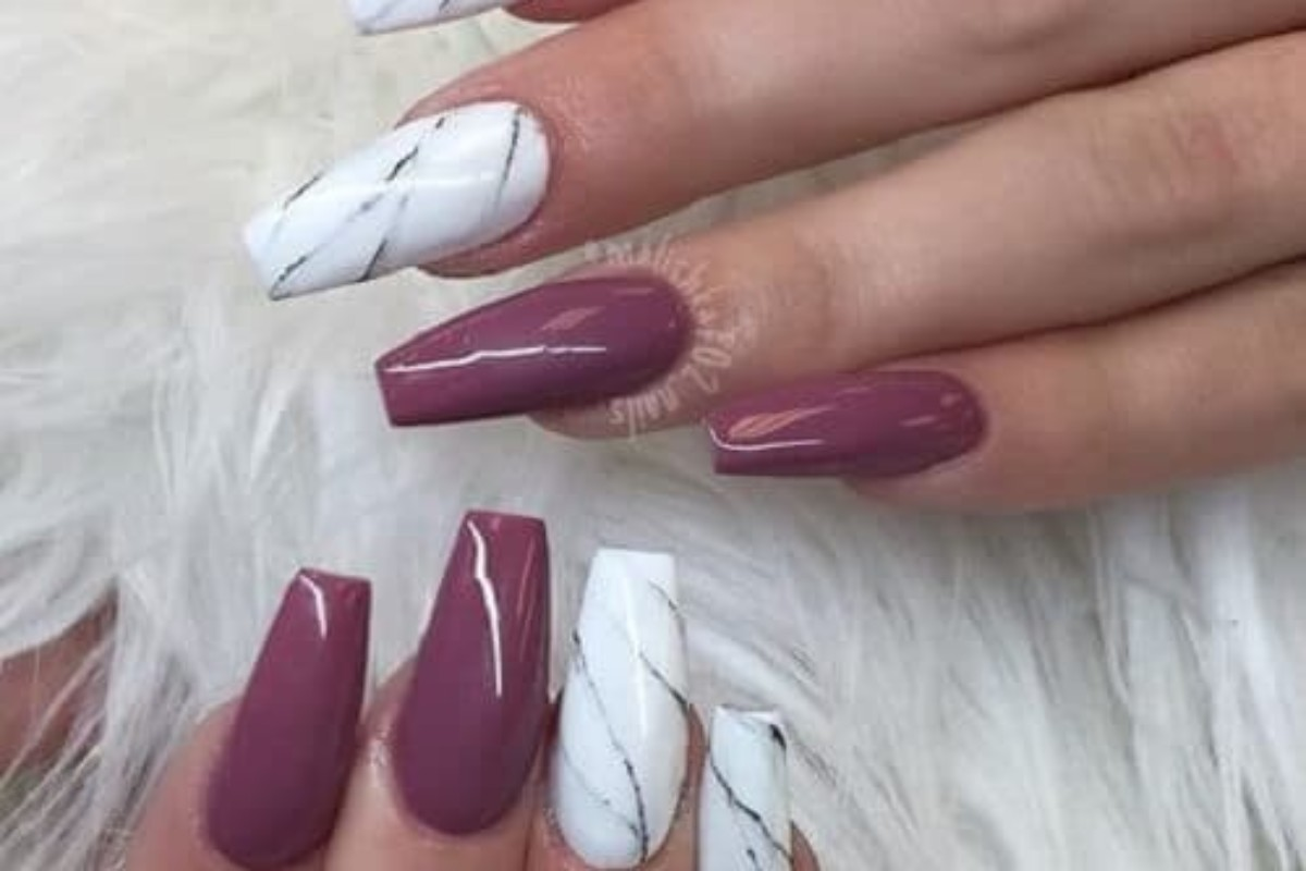 Coffin nail designs for long nails to make you stand out 5 coffin nail designs for long nails to make you stand out prinsesfo Gallery