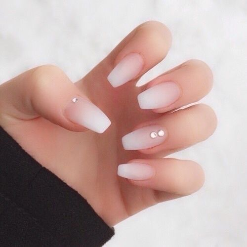 nail designs with rhinestones nude nails acrylic and crystals