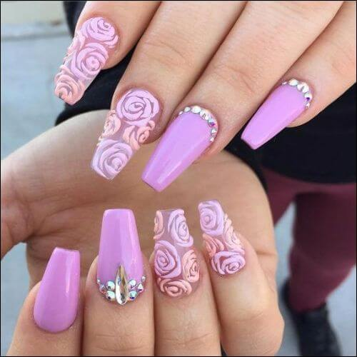 5 Coffin Nail Designs For Long Nails To Make You Stand Out