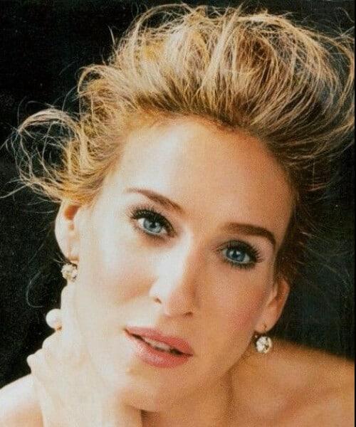 sarah jessica parker best eyebrow shape