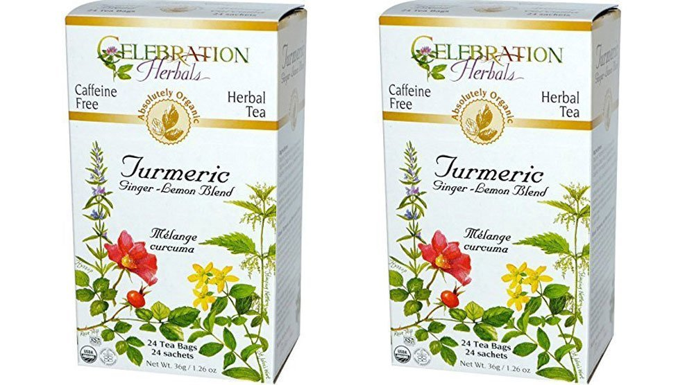 Celebration Herbals Organic Turmeric Ginger Lemon Blend Review