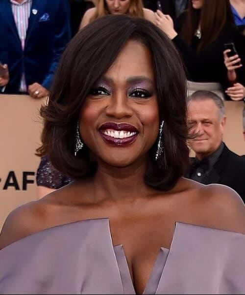best haircuts for diamond faces viola davis