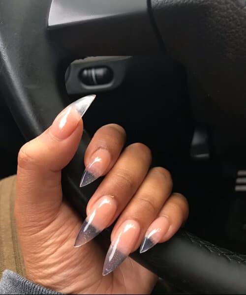Claw Nail Designs Clear